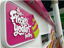 'The Frozen Yogurt Factory.. The Cold, Refreshing Taste of Summer!'