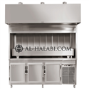B.B.Q. Grill (with Chiller & Fresh Air Hood)